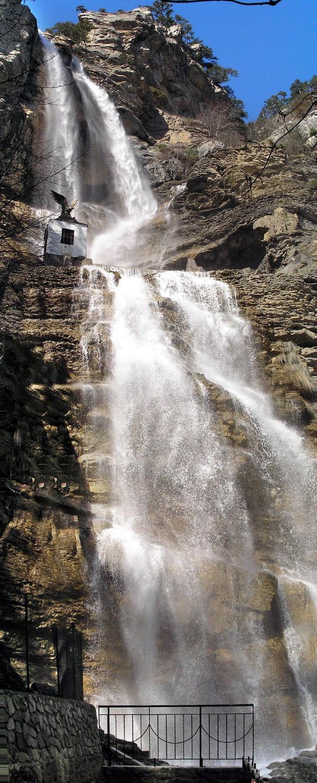 Большой каньон крыма: тисовый водопад, голубое озеро, яблоневый брод, ист