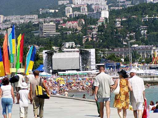 Главная сцена Дня города
