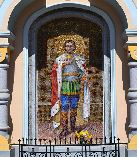Мозаичный образ Невского