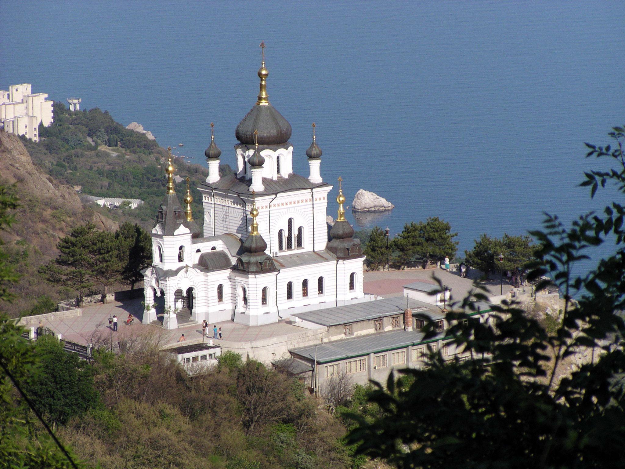 Обои Форосская церковь, Крым. Города foto 14